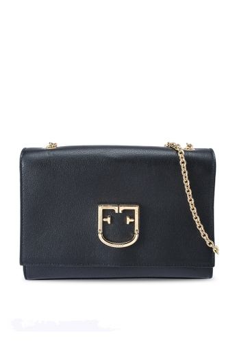Furla black Viva Pochette Crossbody Bag 684BBACC96C2CDGS_1