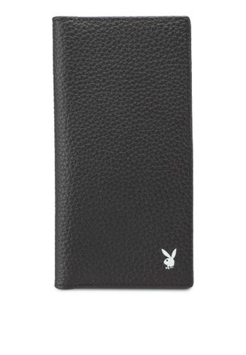 Playboy brown Playboy Genuine Leather Bi-Fold Long Wallet 37565AC5E1F1EFGS_1