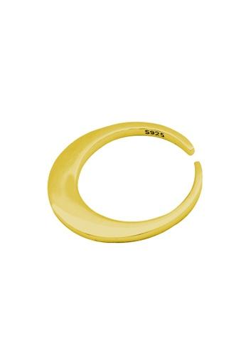 LYCKA gold LDR1222 S925 Silver Minimal Circle Ring E073FACE44F28DGS_1
