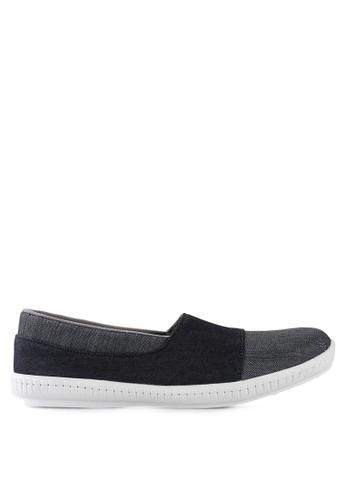 Dr. Kevin black and grey Loafers, Moccasins & Boat Shoes Shoes 13287 Denim DR982SH66GWFID_1