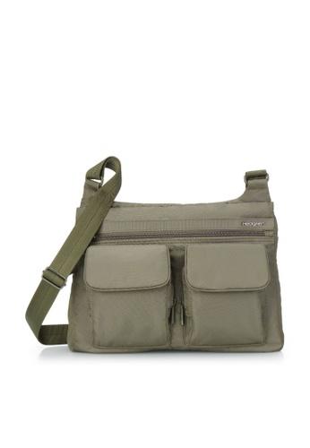 Hedgren green Hedgren Women Prarie Shoulder Bag Outside Pock Olive Night - 7.2L BA77EAC3480A31GS_1