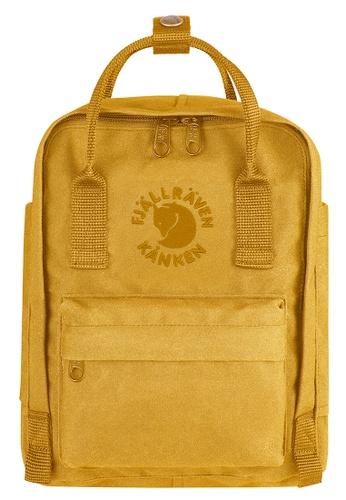 Fjallraven Kanken yellow Sunflower Yellow Re Kanken Mini Backpack  167B9AC5F63EB6GS 1 04d4c4fd20fe3