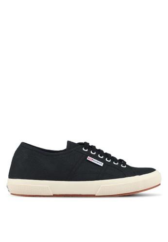 Superga black Plus Cotu Sneakers F3115SHC242A48GS_1