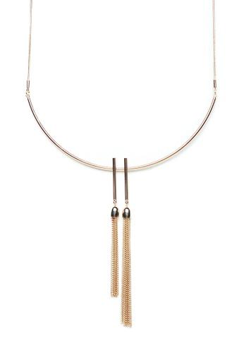 Gung Jewellery gold Freya Tassel Gold Necklace C80C4ACFA6ECE8GS_1