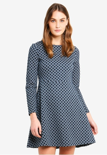 ESPRIT navy Knitted Mini Dress BCFCEAA0A616BCGS_1