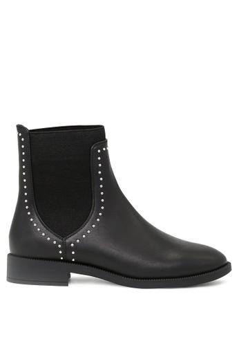 London Rag black Beverly Ankle Boots SH1686 C56E7SH38128EFGS_1