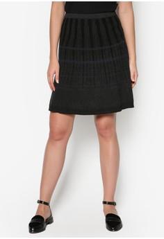 彈性針織短裙