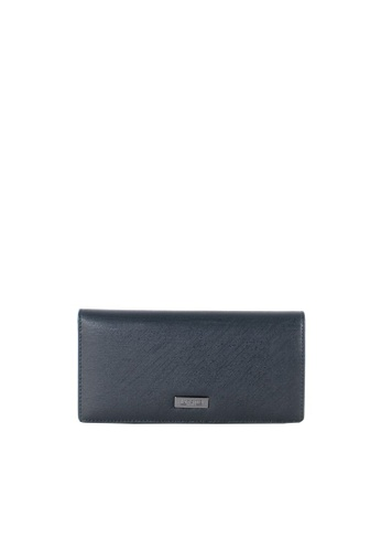 RENOMA Paris blue Renoma Ladies 2 Fold Long Wallet 1900061-56 D46EFACB4CA1A7GS_1