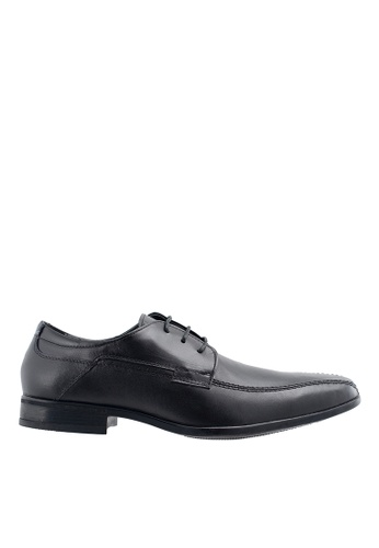 Obermain black Obermain Men's Dewayne Lace Up Dress Shoe - Black 2FAE0SH8E7F8F8GS_1