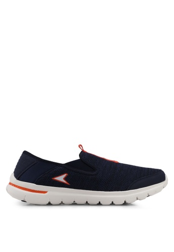 Power orange and navy Power Men Walking Shoes DDE80SHBE32AFAGS_1
