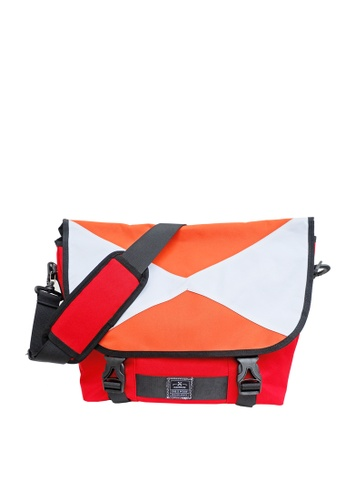 The X Woof red The X Woof - Sporty Messenger Bag Splash WaterProof, Yssenger-ES 1.0 MY-TXWYRES13 A3E72ACFD836A4GS_1