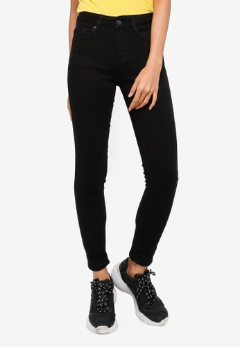 Factorie black The Mid-Rise Skinny Jeans EBC10AAF2F5A46GS_1