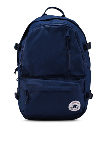 Converse navy Converse All Star Straight Edge Backpack 05380AC262A9B0GS_1