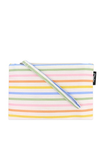 Ripples multi Ripples Colourful Stripes Essential Flat Pouch 74574ACB19E26CGS_1