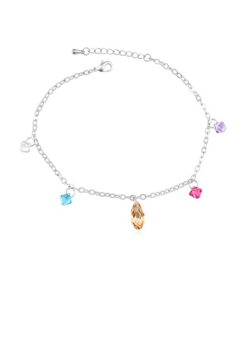 Urban Outlier multi and silver Crystal Bracelet B1105878 83E6BAC5E61382GS_1