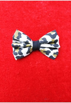 Leopard Print Bow (Small)
