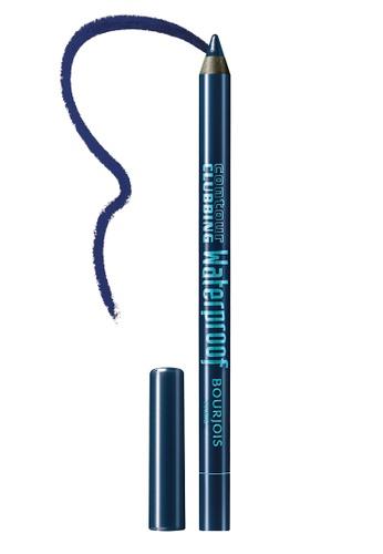BOURJOIS blue Bourjois Contour Clubbing Waterproof Eyepencil #72 Up to blue 4277CBE1B9E924GS_1