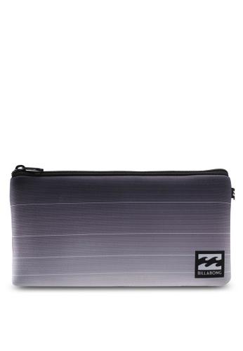Billabong black and grey Small Pencil Case BI783AC0SXJ1MY_1
