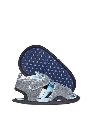LC Waikiki navy Baby Boy Velcro Pre-Walk Sandals 7627EKSB570889GS_1