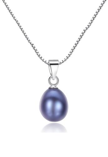 A.Excellence black Premium Black Pearl Elegant Necklace 1FCE6AC5EDE333GS_1
