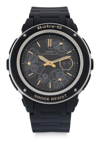 Baby-G black Casio BABY-G Jam Tangan Wanita - Black - Resin - BGA-150FL-1ADR 93221ACD0128A1GS_1