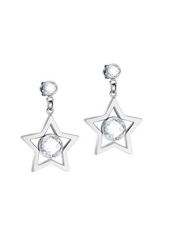 Morellato silver Cosmo Earrings SAKI11 Steel Crystals 1B7F2AC23E3CB5GS_1