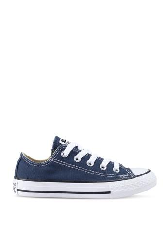 Converse 海軍藍色 Chuck Taylor All Star Ox Sneakers 14725KS4667DE8GS_1