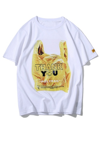 HAPPY FRIDAYS Recycle Bag Printed Short Sleeve T-shirt UP8004 EFF69AA5525AFEGS_1