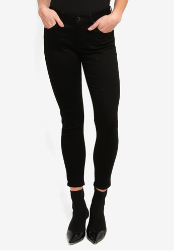 Guess black Mid Rise Skinny Jeans 0BF66AA79B1FE5GS_1