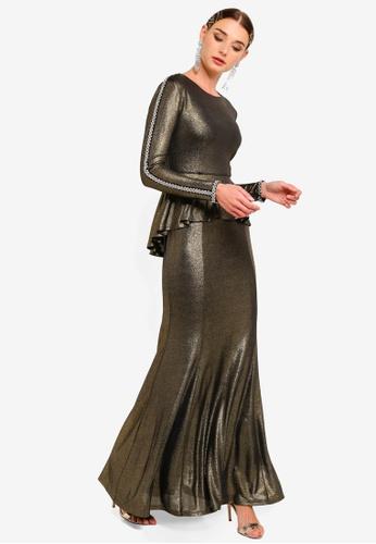 f60cb56e94 Peplum Mermaid Dress