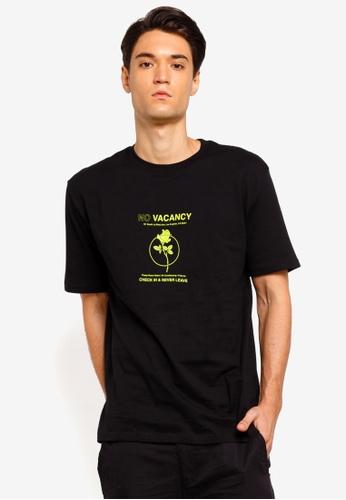 Factorie 多色 短袖印花T恤 DF2B9AA992F303GS_1
