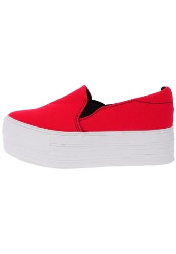 Maxstar C7 50 Synthetic Cotton White Platform Slip on Sneakers US Women Size MA168SH54DIVHK_1