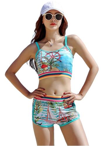 YG Fitness multi (3PCS) Fashion Sporty Bikini Set DDE76US3395D51GS_1