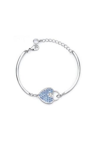 ADORA blue Swarovski Heart Bracelet 1A579ACEB7F90BGS_1