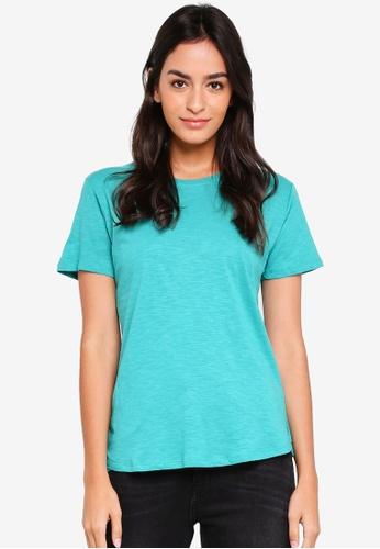 Cotton On green The Crew T-Shirt 8029FAA8B092EDGS_1