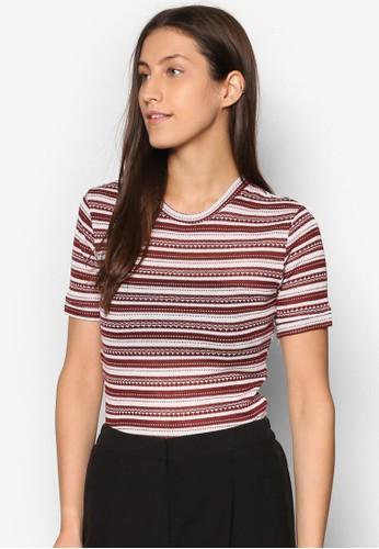 條紋針織TEE、 服飾、 T-shirtDorothyPerkins條紋針織TEE最新折價