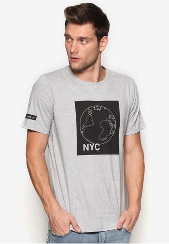 Nyc 設計短袖esprit 包TEE, 服飾, 印圖T恤