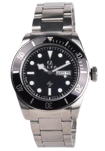 Digitec black Digitec - Jam Tangan Pria - Silver - Stainless Steel Bracelet - 99104M-F 97DA5ACAC46F0BGS_1