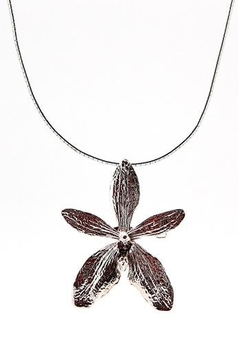 Paulini silver Choker Orchid (R) PA011AC17XCOMY_1