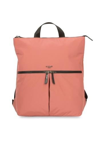 "knomo pink Reykjavik 15"" Tote Backpack (Rose) 00DC6AC10403E6GS_1"
