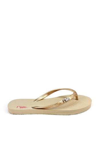 Ripples beige Andre Basic Flip Flops RI425SH29THISG_1