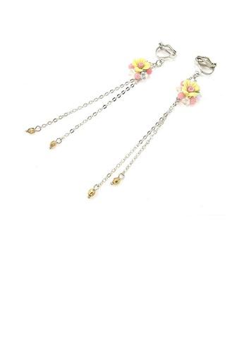 Glamorousky pink Trendy Earrings C3CD2ACFA4BE81GS_1