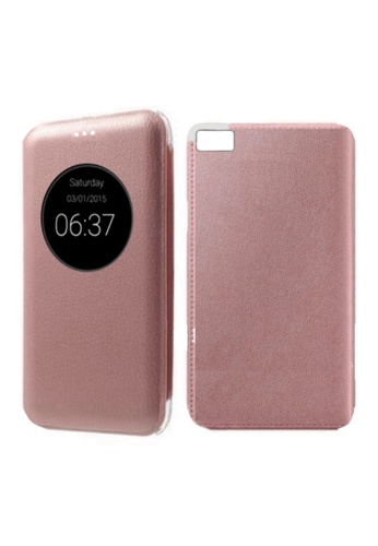 new style f58c6 c35ac Leather Flip View Cover for Asus Zenfone 3S Max ZC521TL