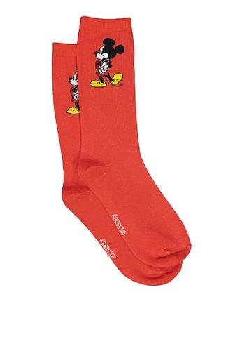 Typo multi Womens Novelty Socks B1182AA45419FDGS_1