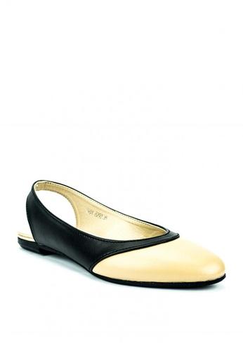 Mario D' boro Runway beige Selena Flats 977A4SHDACF91EGS_1