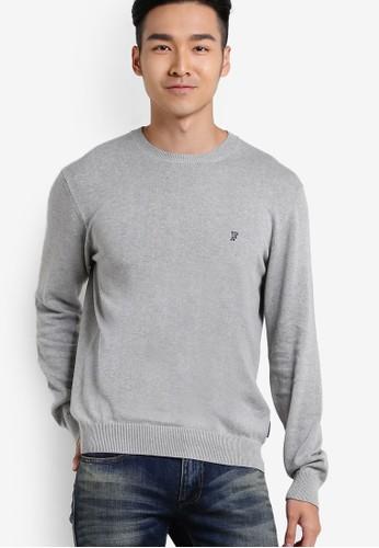 簡約棉針織長esprit台北門市袖衫, 服飾, 運動衫
