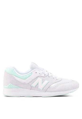 New Balance grey 697 Lifestyle Sneakers 0C74ASHEADE202GS_1