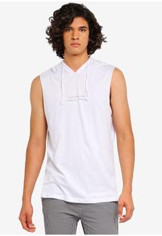 e12ccc1738b632 Cotton On white Hustle Muscle Tank Top F76C3AA8650B0DGS 1