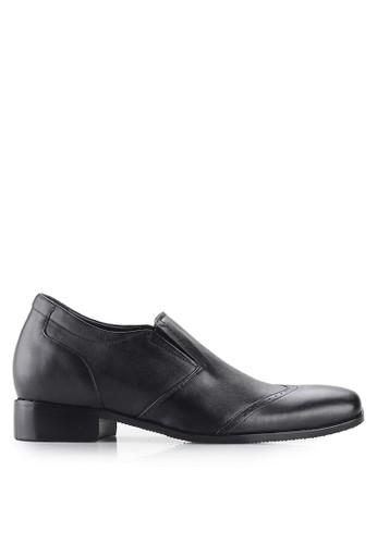 Keeve black Keeve Shoes Peninggi Badan Formal 023-Black 9463ESHE967D0EGS_1