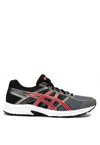 Asics black and red Gel-Contend 4 Sneakers AS445SH0KAE8PH_1